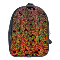 Red Corals School Bags(large)  by Valentinaart
