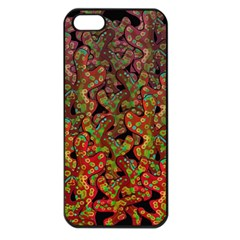Red Corals Apple Iphone 5 Seamless Case (black) by Valentinaart