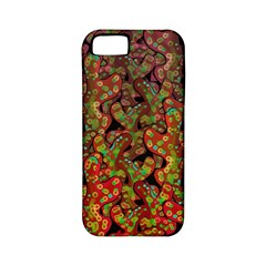 Red Corals Apple Iphone 5 Classic Hardshell Case (pc+silicone) by Valentinaart