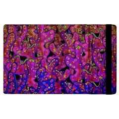 Purple Corals Apple Ipad 3/4 Flip Case by Valentinaart
