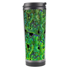 Green Corals Travel Tumbler by Valentinaart