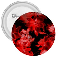 Red Flower  3  Buttons by Brittlevirginclothing