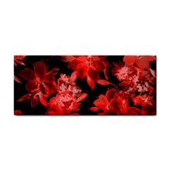Red Flower  Hand Towel by Brittlevirginclothing