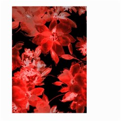 Red Flower  Large Garden Flag (two Sides) by Brittlevirginclothing