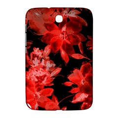 Red Flower  Samsung Galaxy Note 8 0 N5100 Hardshell Case  by Brittlevirginclothing