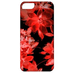 Red Flower  Apple Iphone 5 Classic Hardshell Case by Brittlevirginclothing