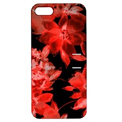 Red Flower  Apple Iphone 5 Hardshell Case With Stand by Brittlevirginclothing
