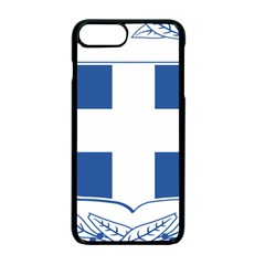 Coat Of Arms Of Greece Apple Iphone 7 Plus Seamless Case (black)