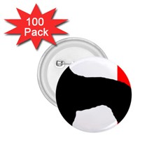 Berger Picard Silo France Flag 1.75  Buttons (100 pack)  by TailWags