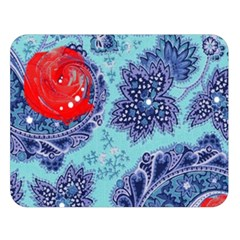 Red Pearled Roses  Double Sided Flano Blanket (large)  by Brittlevirginclothing