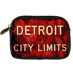 DCLLv7 Digital Camera Leather Case by DetroitCityLimitsLimited