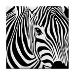 Animal Cute Pattern Art Zebra Tile Coasters