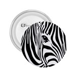 Animal Cute Pattern Art Zebra 2.25  Buttons