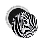 Animal Cute Pattern Art Zebra 2.25  Magnets
