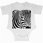 Animal Cute Pattern Art Zebra Infant Creepers