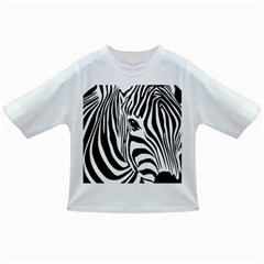 Animal Cute Pattern Art Zebra Infant/toddler T Shirts