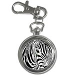 Animal Cute Pattern Art Zebra Key Chain Watches