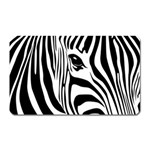 Animal Cute Pattern Art Zebra Magnet (Rectangular)