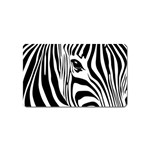 Animal Cute Pattern Art Zebra Magnet (Name Card)