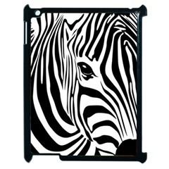 Animal Cute Pattern Art Zebra Apple Ipad 2 Case (black) by Amaryn4rt