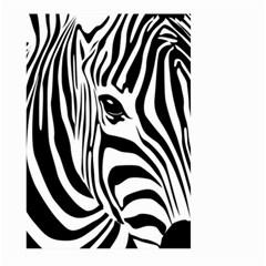 Animal Cute Pattern Art Zebra Large Garden Flag (two Sides)
