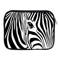 Animal Cute Pattern Art Zebra Apple Ipad 2/3/4 Zipper Cases