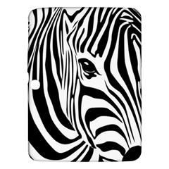 Animal Cute Pattern Art Zebra Samsung Galaxy Tab 3 (10 1 ) P5200 Hardshell Case  by Amaryn4rt