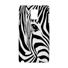 Animal Cute Pattern Art Zebra Samsung Galaxy Note 4 Hardshell Case by Amaryn4rt