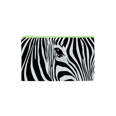 Animal Cute Pattern Art Zebra Cosmetic Bag (xs) by Amaryn4rt