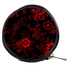 Small Red Roses Mini Makeup Bags by Brittlevirginclothing