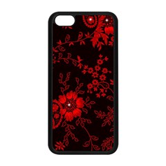 Small Red Roses Apple Iphone 5c Seamless Case (black) by Brittlevirginclothing