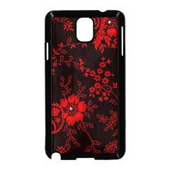 Small Red Roses Samsung Galaxy Note 3 Neo Hardshell Case (black) by Brittlevirginclothing
