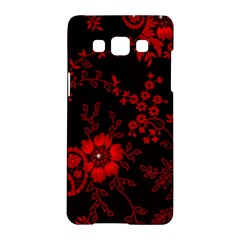 Small Red Roses Samsung Galaxy A5 Hardshell Case  by Brittlevirginclothing