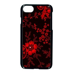 Small Red Roses Apple Iphone 7 Seamless Case (black) by Brittlevirginclothing