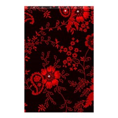 Small Red Roses Shower Curtain 48  X 72  (small)  by Brittlevirginclothing
