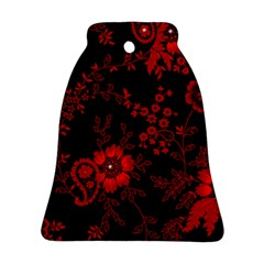 Small Red Roses Bell Ornament (2 Sides) by Brittlevirginclothing