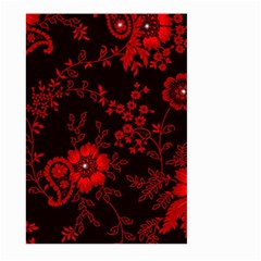 Small Red Roses Large Garden Flag (two Sides) by Brittlevirginclothing