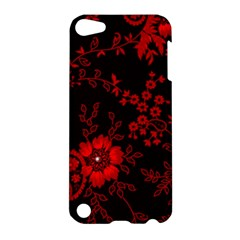 Small Red Roses Apple Ipod Touch 5 Hardshell Case by Brittlevirginclothing