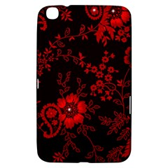 Small Red Roses Samsung Galaxy Tab 3 (8 ) T3100 Hardshell Case  by Brittlevirginclothing