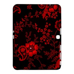 Small Red Roses Samsung Galaxy Tab 4 (10 1 ) Hardshell Case  by Brittlevirginclothing
