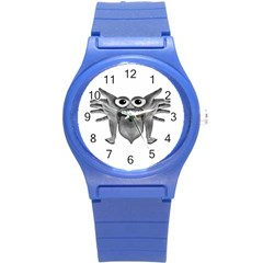Body Part Monster Illustration Round Plastic Sport Watch (s) by dflcprints