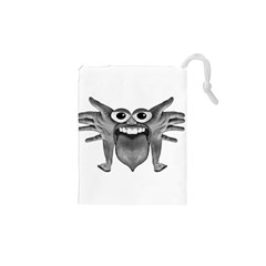 Body Part Monster Illustration Drawstring Pouches (xs)
