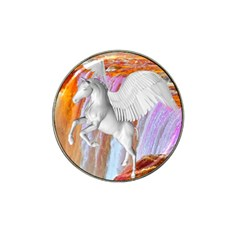 Pegasus Hat Clip Ball Marker (4 Pack) by icarusismartdesigns