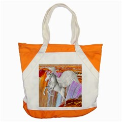 Pegasus Accent Tote Bag by icarusismartdesigns