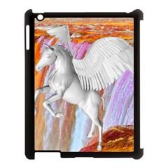 Pegasus Apple Ipad 3/4 Case (black) by icarusismartdesigns