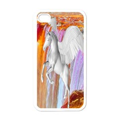 Pegasus Apple Iphone 4 Case (white) by icarusismartdesigns