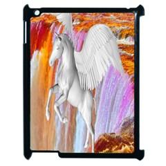 Pegasus Apple Ipad 2 Case (black) by icarusismartdesigns