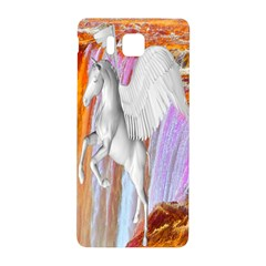 Pegasus Samsung Galaxy Alpha Hardshell Back Case by icarusismartdesigns