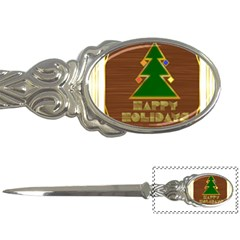 Art Deco Holiday Card Letter Openers