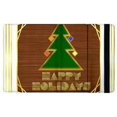 Art Deco Holiday Card Apple Ipad 3/4 Flip Case